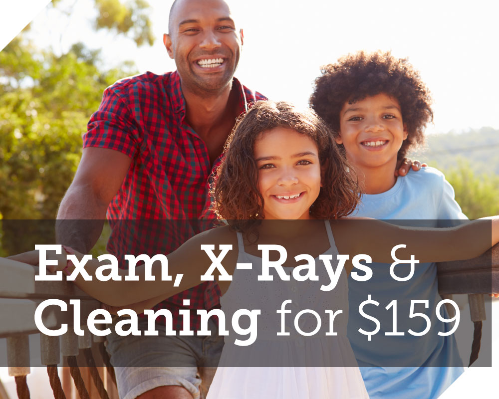 Exam, X-Rays and Cleaning for $129